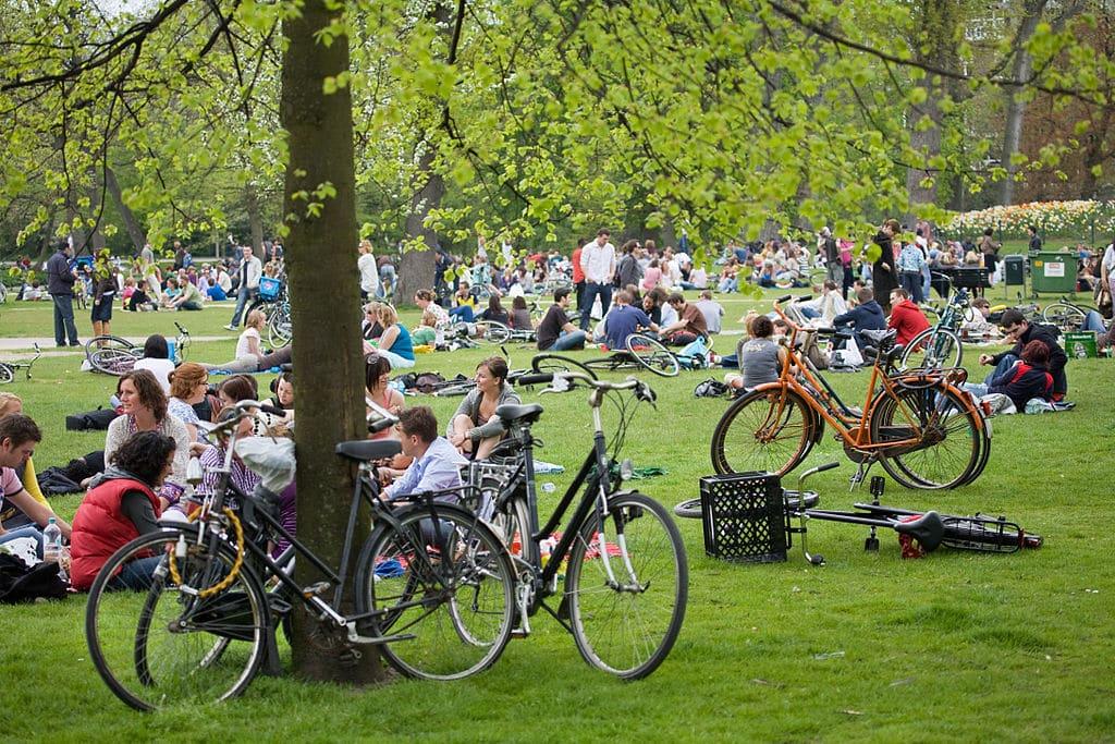 Vondelpark d'Amsterdam.