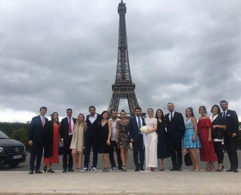 Pariste düğün organizasyonu
